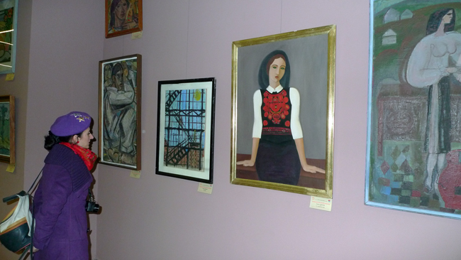 Expoziţia GENERATIA 60 si RECUPERAREA AVANGARDEI @ Golden Gallery, Baia Mare (6)