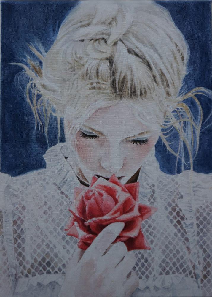 Fragrance, acuarela pe panza, 35X25 cm, 2014 (4)