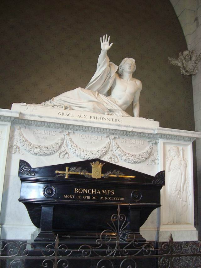 Resize of 07 Generalul regalist Bonchamps care a gratiat inainte de moarte 5000 de prizonieri republicani