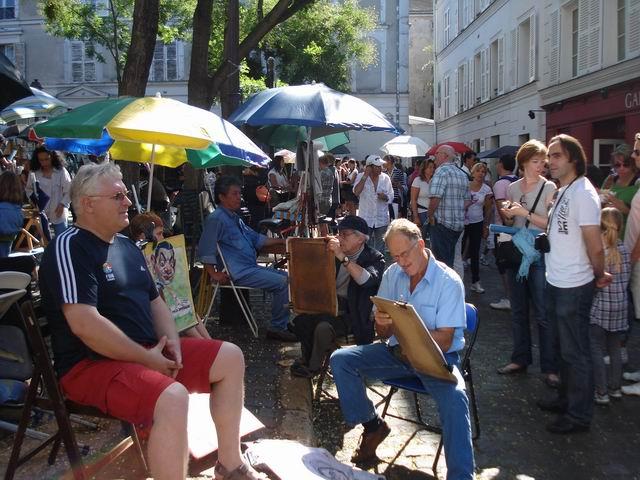 Resize of 09 Forfota si portrete la minut in Place du Tertre