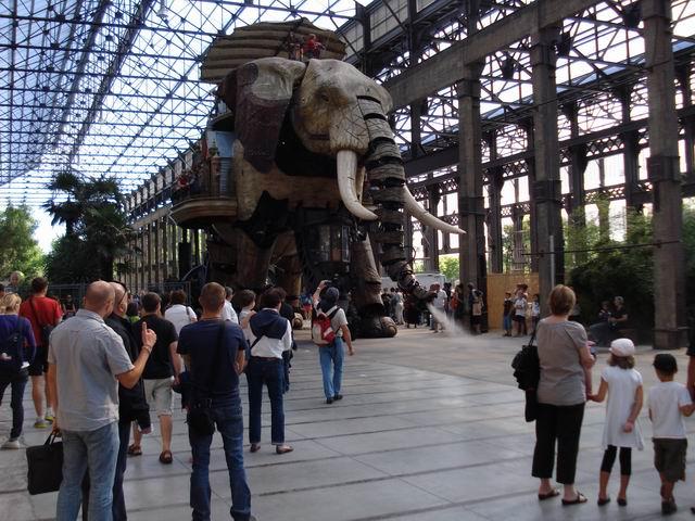Resize of 22 Marele elefant mecanic din Nantes