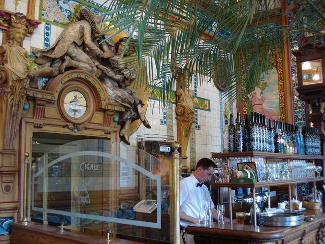 Resize of 24 La Cigale din Nantes, un restaurant-muzeu