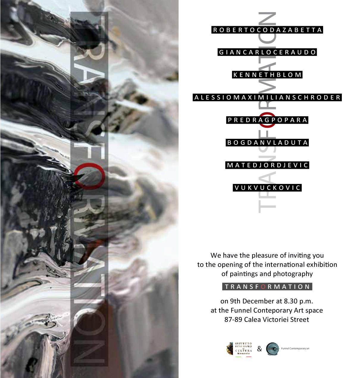 Transformation BELGRADE - BUCHAREST Project Exhibition
