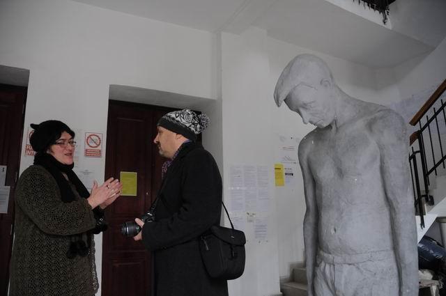 performance - facultatea sculptura foto lucian muntean 05