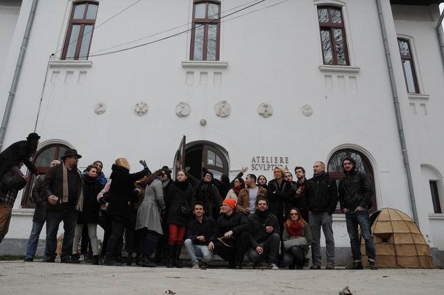 performance - facultatea sculptura foto lucian muntean 50