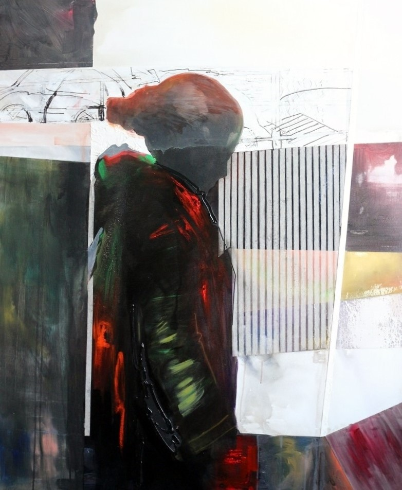 2.Subteran Shadow 120x100 cm-Iordache M