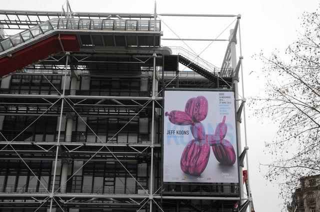 Jeff Kons - Centre Pompidou - foto lucian muntean _001