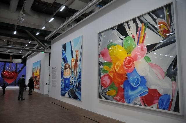 Jeff Kons - Centre Pompidou - foto lucian muntean _026