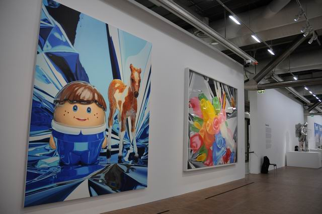 Jeff Kons - Centre Pompidou - foto lucian muntean _028