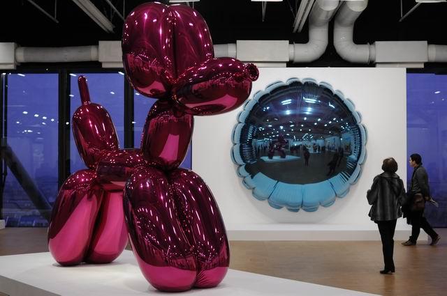 Jeff Kons - Centre Pompidou - foto lucian muntean _033