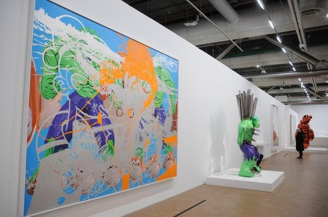 Jeff Kons - Centre Pompidou - foto lucian muntean _051