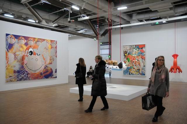 Jeff Kons - Centre Pompidou - foto lucian muntean _055