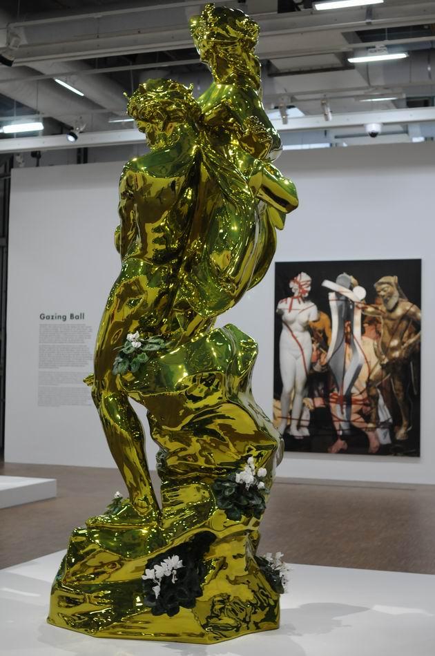 Jeff Kons - Centre Pompidou - foto lucian muntean _058