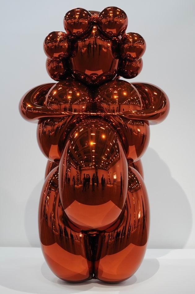 Jeff Kons - Centre Pompidou - foto lucian muntean _061
