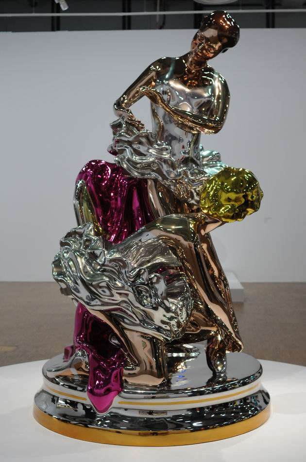 Jeff Kons - Centre Pompidou - foto lucian muntean _071