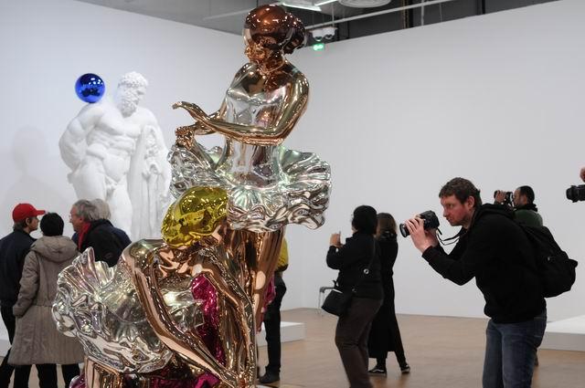 Jeff Kons - Centre Pompidou - foto lucian muntean _072