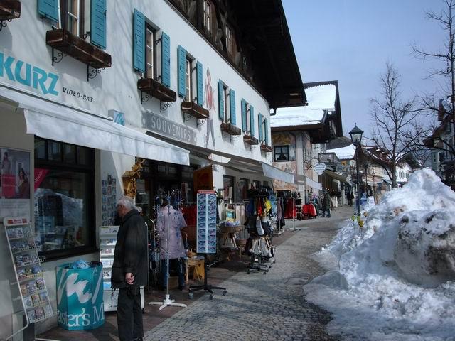 Resize of 19 Strada centrala din Oberammergau