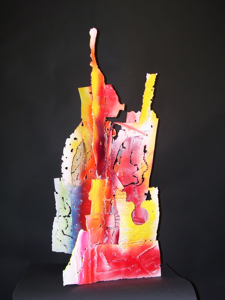 9 Mistuire Welded and painted steel 29 x13 x13 2000