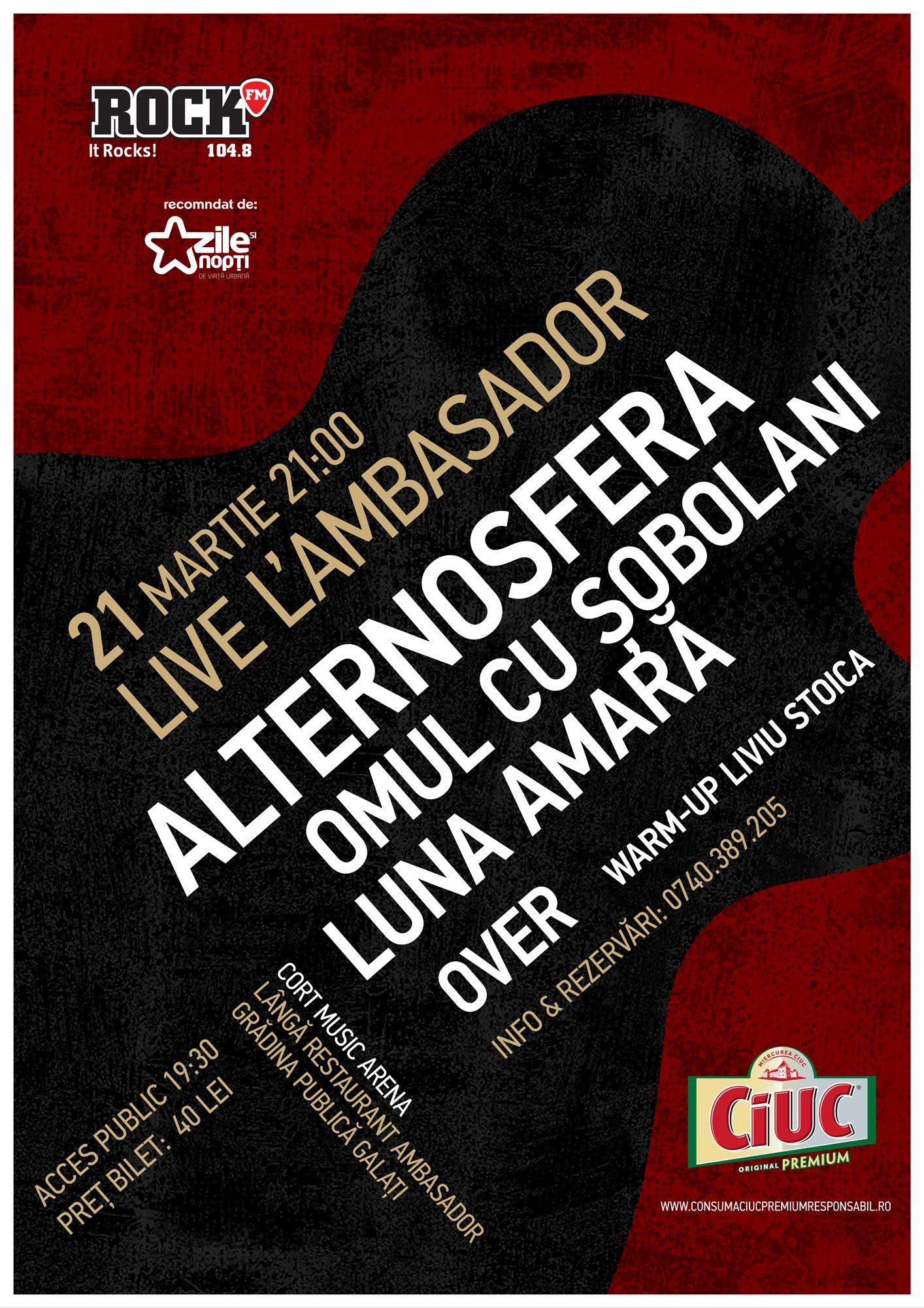 LIVE L'AMBASADOR - GALATI