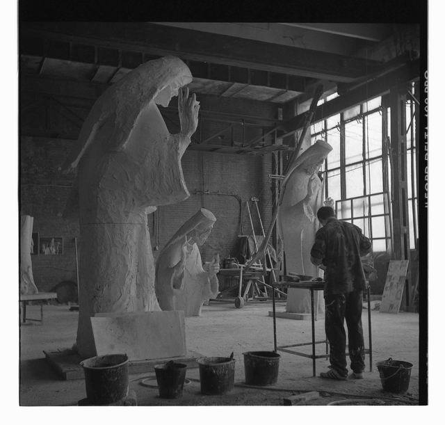 mihai istudor - atelier combinatul fondului plastic - foto Jonas Mercier 15