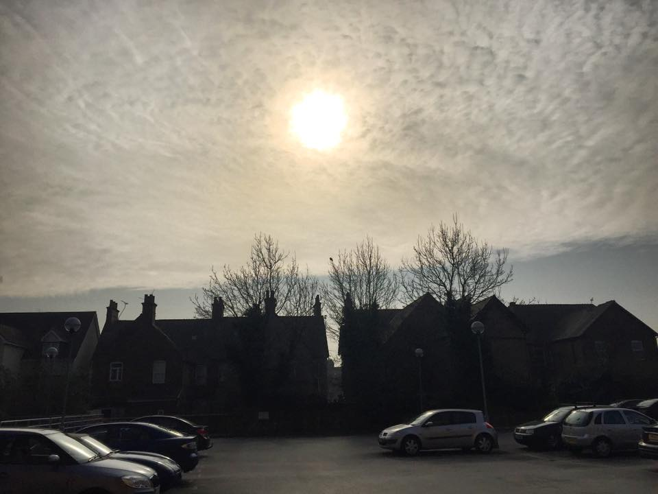 eclipsa partiala de soare coventry UK - foto adrian muntean 1