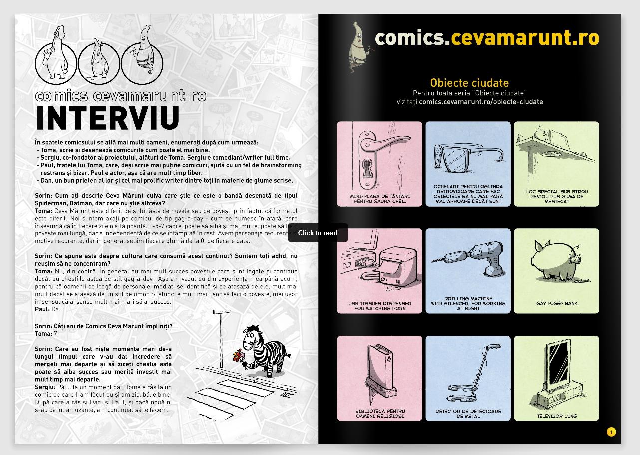 pagini Revista COMICS nr25
