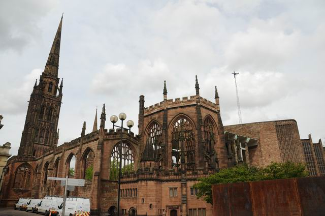 Coventry Cathedral UK - pfoto Lucian Muntean 20