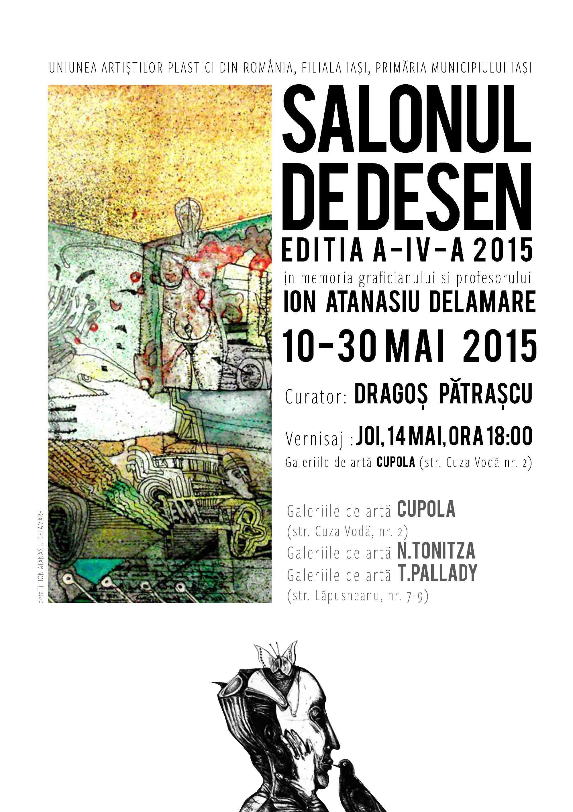 Salonul de desen 2015, Iași