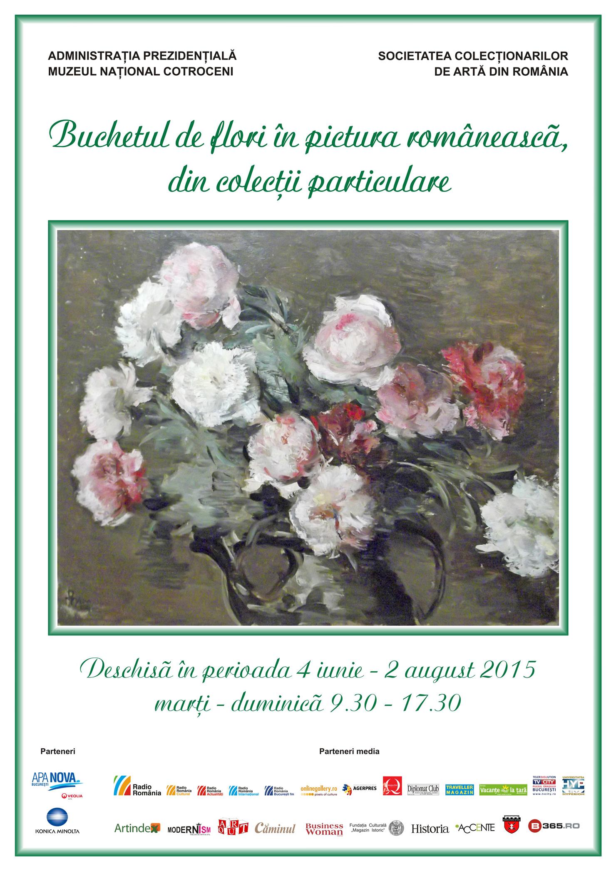Buchetul de flori in pictura romaneasca, din colectii particulare Muzeul National Cotroceni (2)