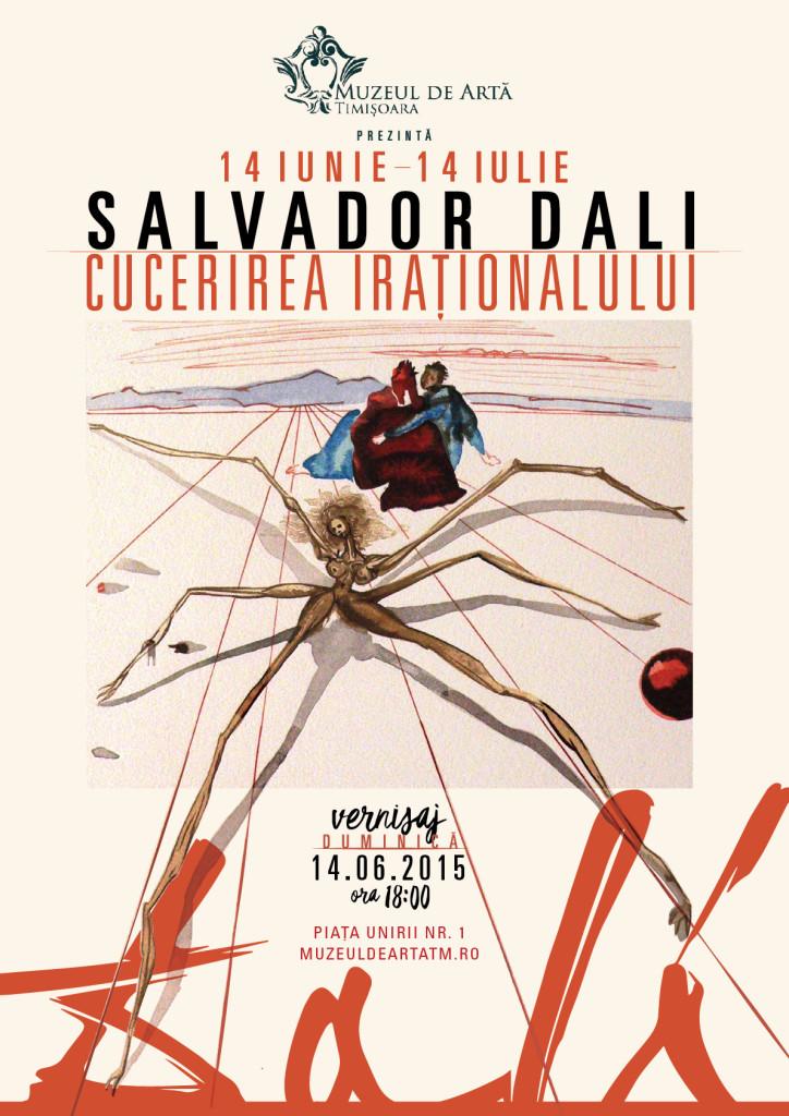 Salvador Dali Cucerirea irationalului @ Muzeul de Arta Timisoara