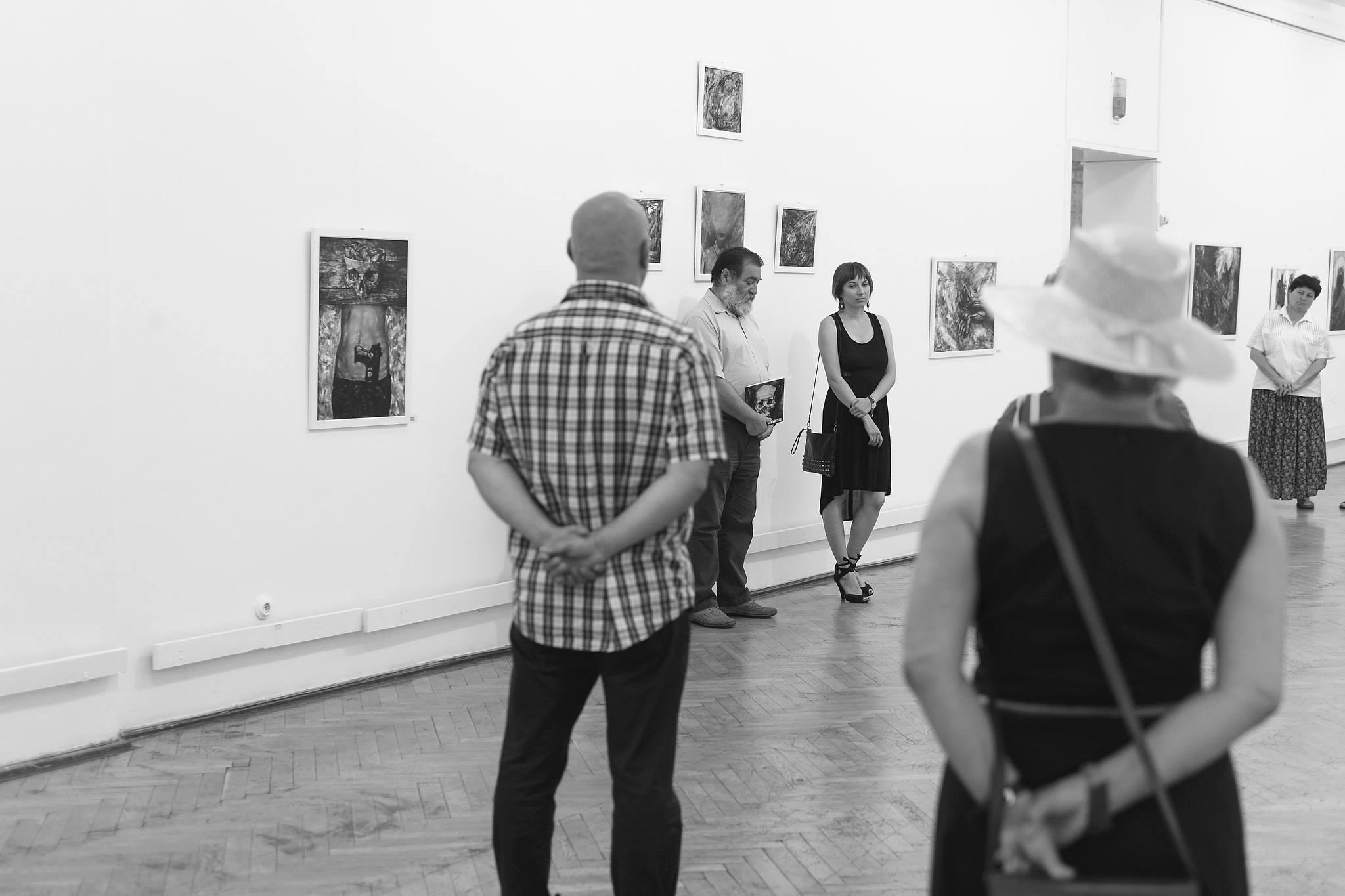Ada Muntean – solo show Black Fire @ Muzeul de Artă Brasov (1)