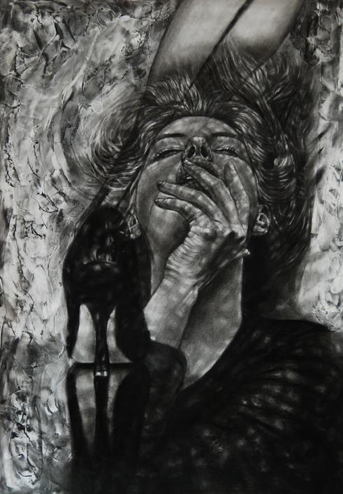 Ada Muntean – solo show Black Fire @ Muzeul de Artă Brasov (3)