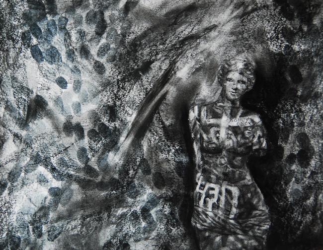 Ada Muntean – solo show Black Fire @ Muzeul de Artă Brasov (30)
