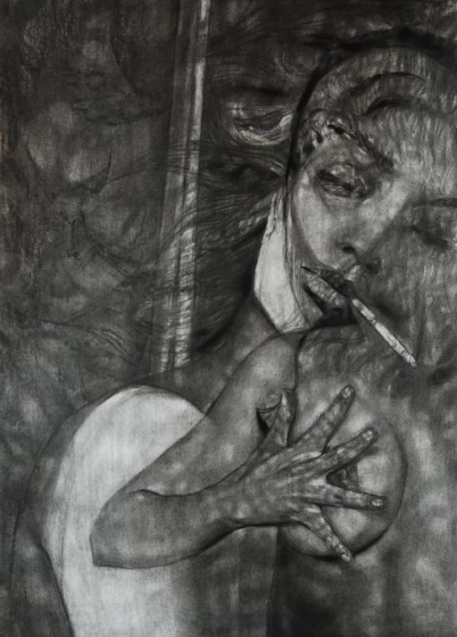 Ada Muntean – solo show Black Fire @ Muzeul de Artă Brasov (4)
