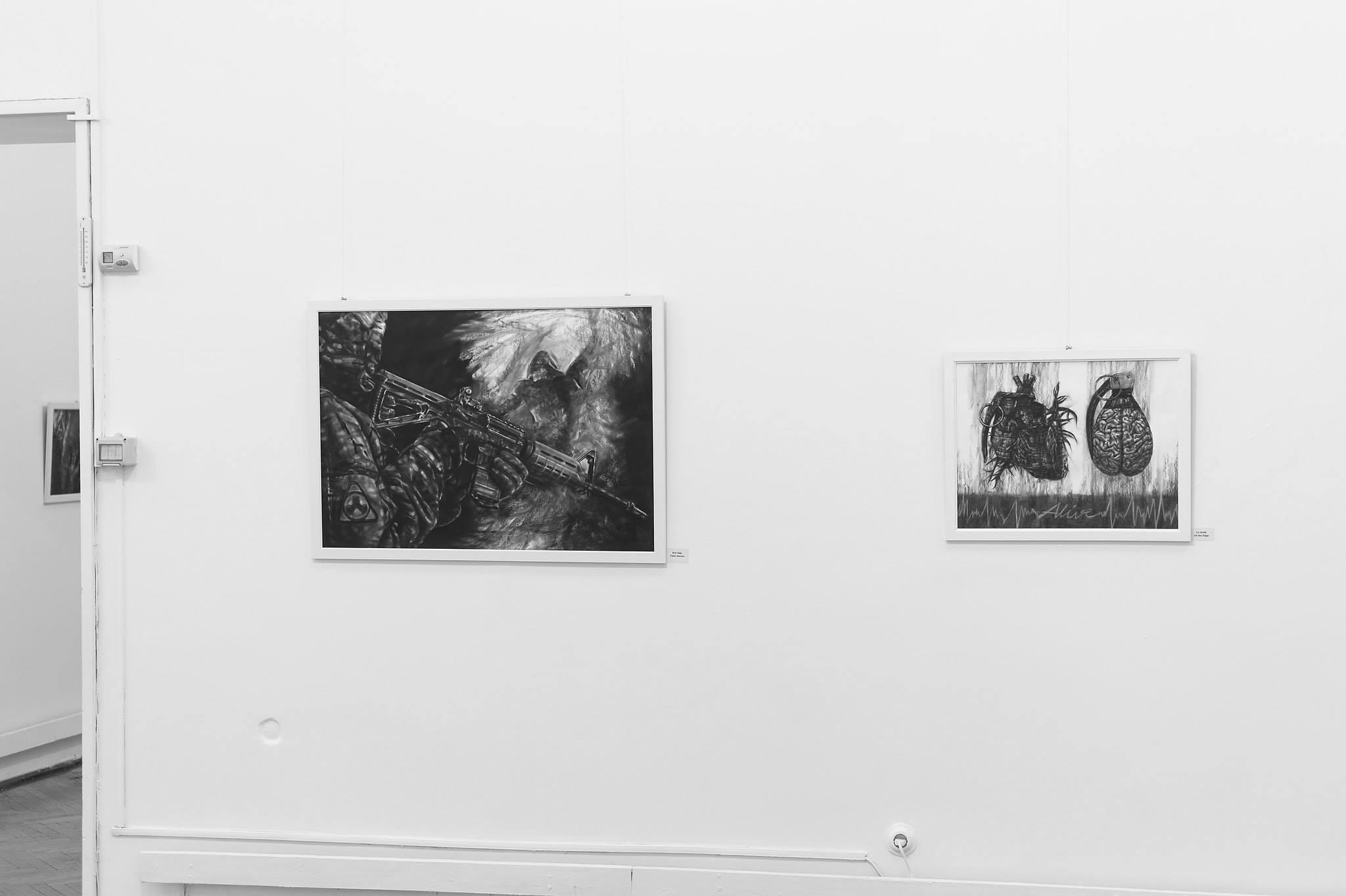 Ada Muntean – solo show Black Fire @ Muzeul de Artă Brasov (42)