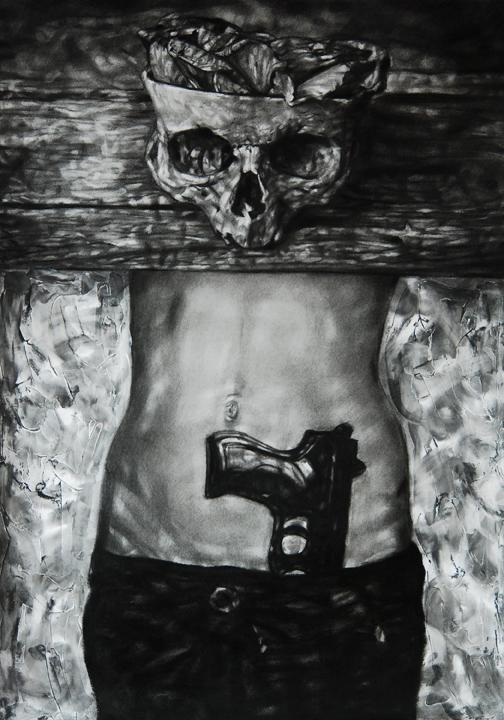 Ada Muntean – solo show Black Fire @ Muzeul de Artă Brasov (5)