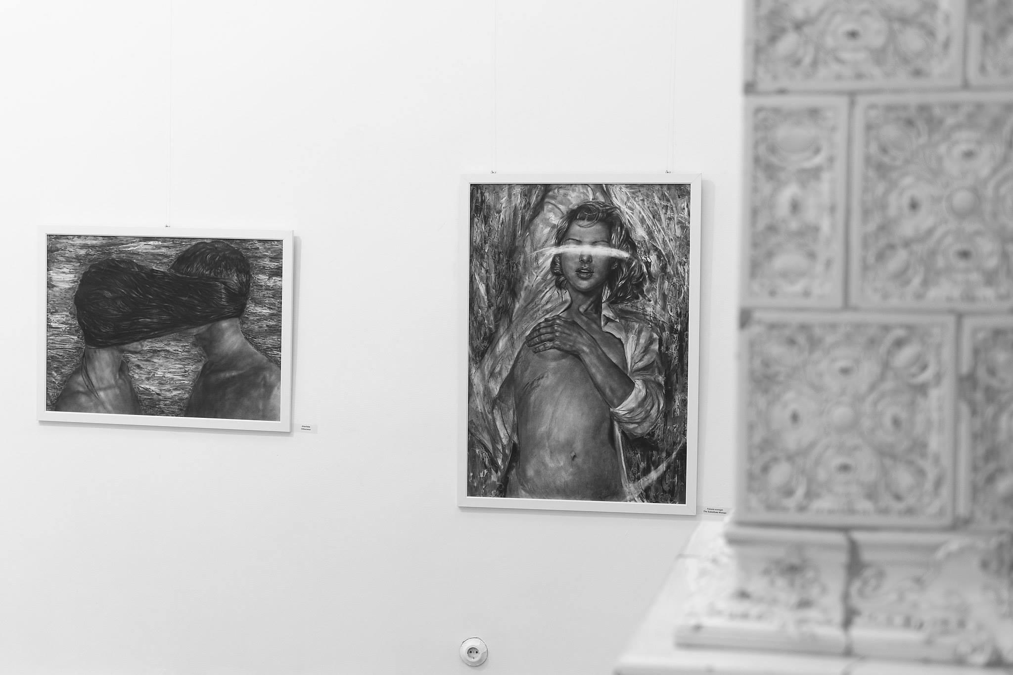 Ada Muntean – solo show Black Fire @ Muzeul de Artă Brasov (63)