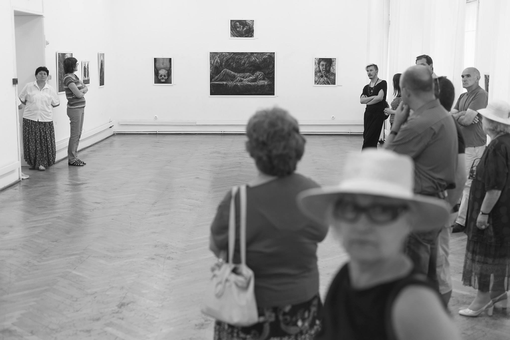 Ada Muntean – solo show Black Fire @ Muzeul de Artă Brasov (64)