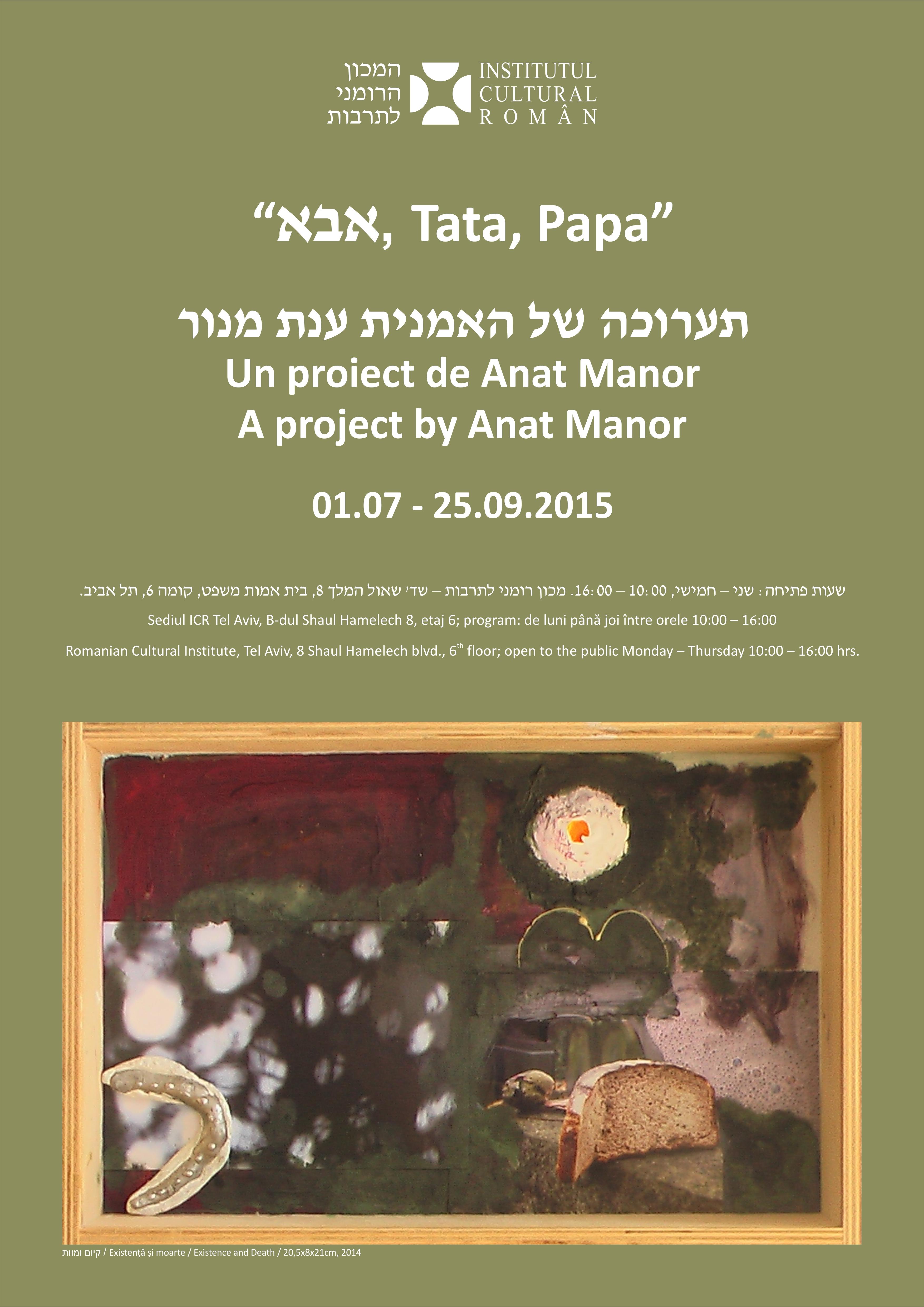 Afis expo Anat Manor