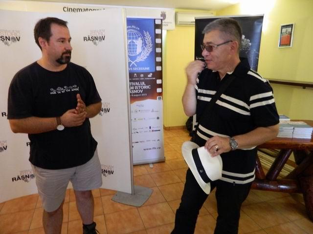 Resize of Mihai Dragomir si Horia Serbanescu pregatind show-ul istoric