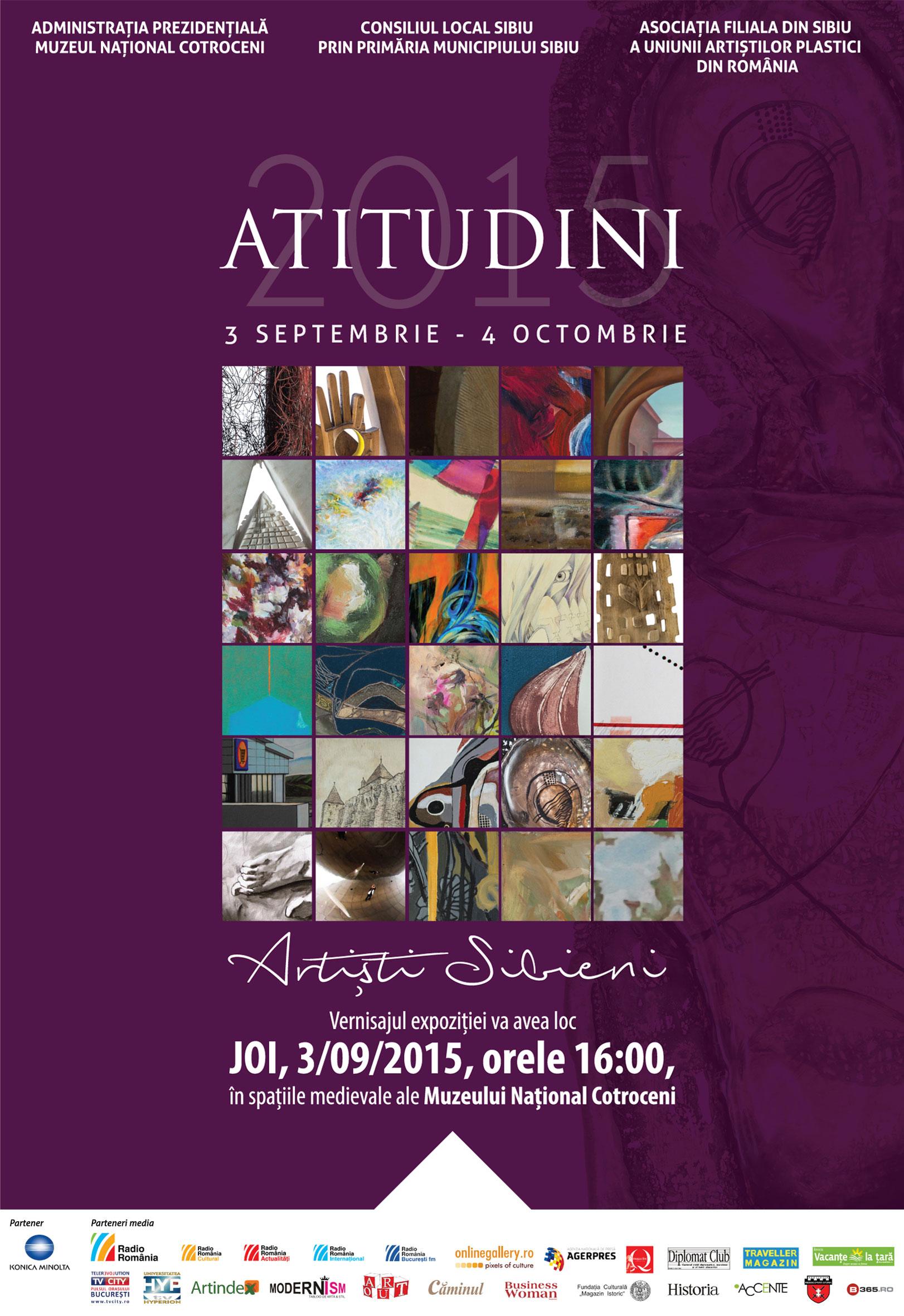 Atitudini-Artişti-sibieni-la-Muzeul-Naţional-Cotroceni