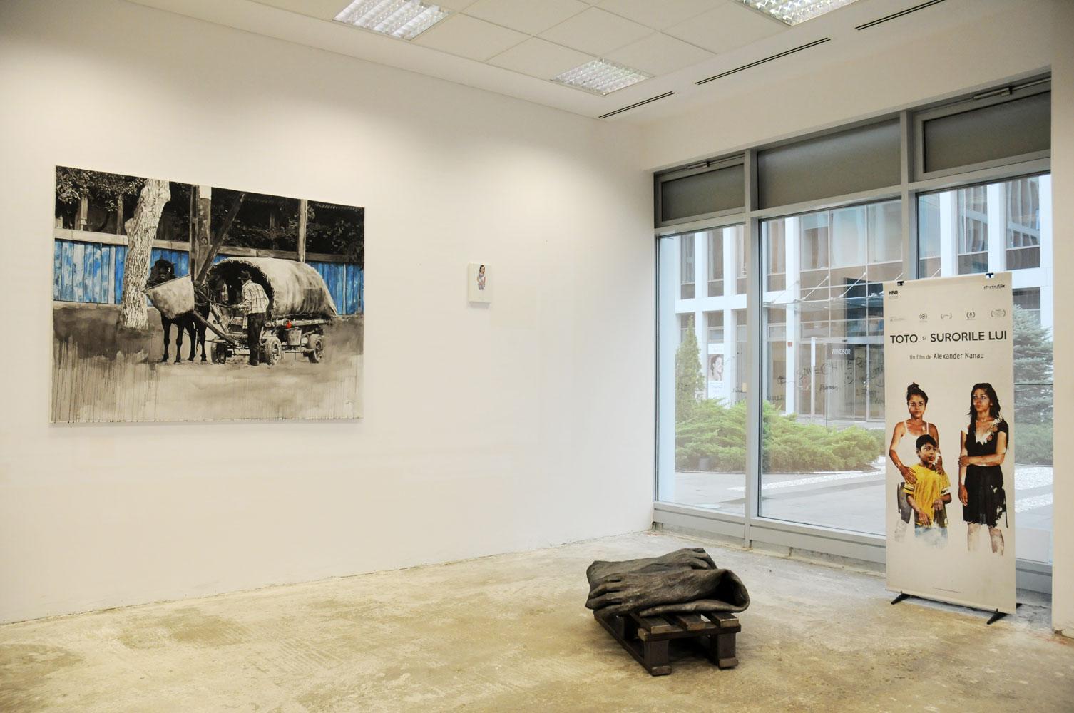 Daniel Brici, solo show Copiii care nu se vad @ Nasui collection & gallery Bucuresti (1)