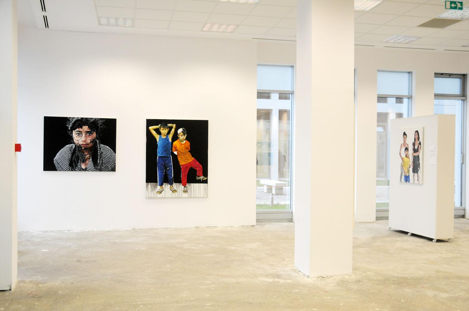 Daniel Brici, solo show Copiii care nu se vad @ Nasui collection & gallery Bucuresti (12)