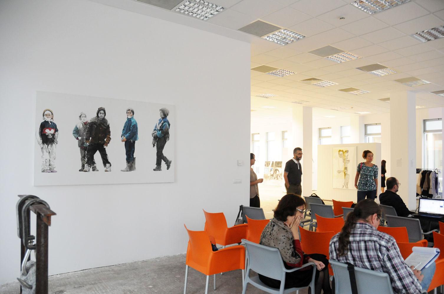 Daniel Brici, solo show Copiii care nu se vad @ Nasui collection & gallery Bucuresti (13)