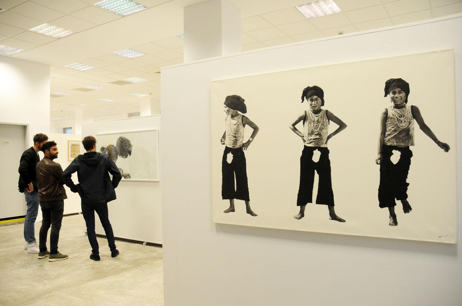 Daniel Brici, solo show Copiii care nu se vad @ Nasui collection & gallery Bucuresti (14)