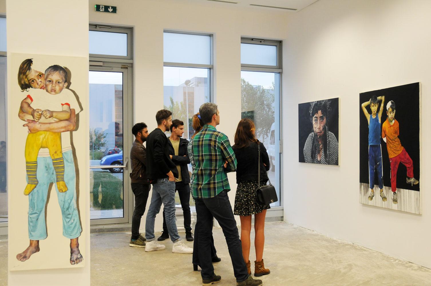 Daniel Brici, solo show Copiii care nu se vad @ Nasui collection & gallery Bucuresti (15)