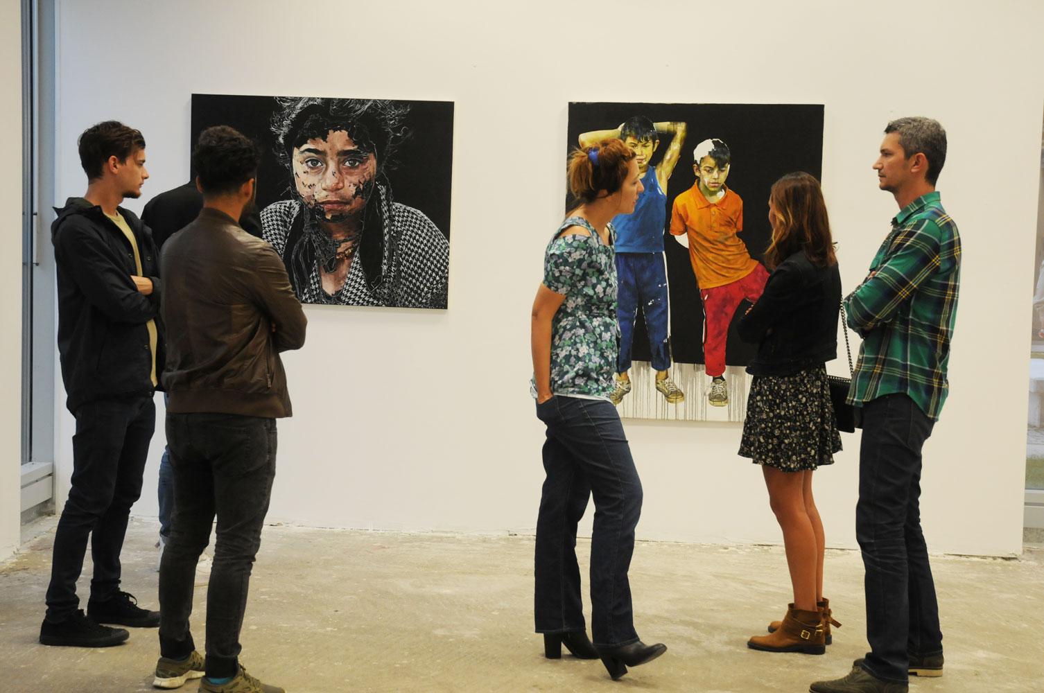 Daniel Brici, solo show Copiii care nu se vad @ Nasui collection & gallery Bucuresti (16)