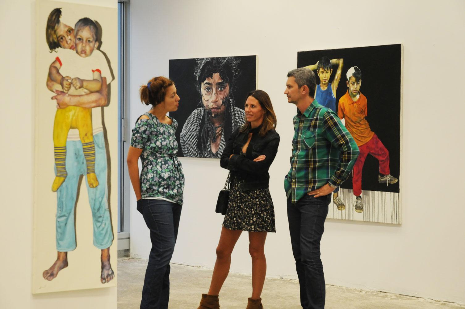 Daniel Brici, solo show Copiii care nu se vad @ Nasui collection & gallery Bucuresti (17)