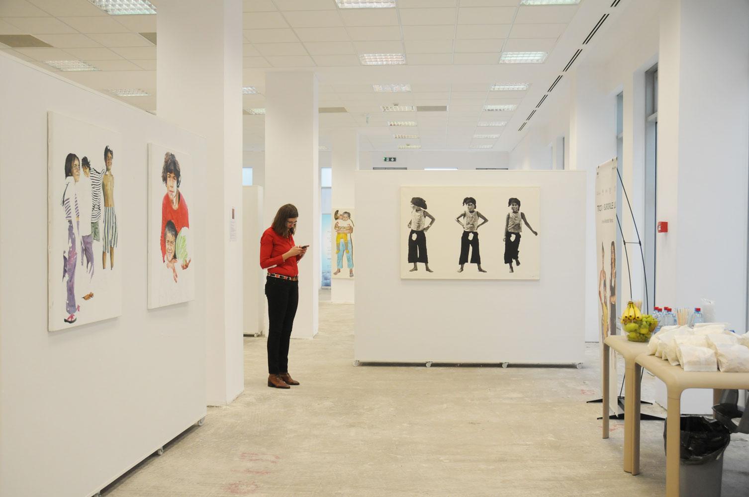 Daniel Brici, solo show Copiii care nu se vad @ Nasui collection & gallery Bucuresti (2)