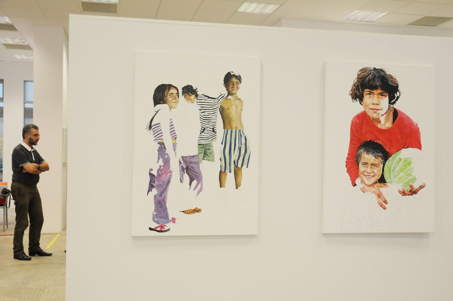 Daniel Brici, solo show Copiii care nu se vad @ Nasui collection & gallery Bucuresti (3)